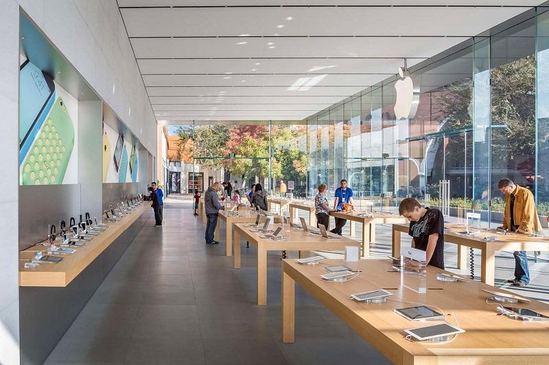 Loja da Apple na Califórnia