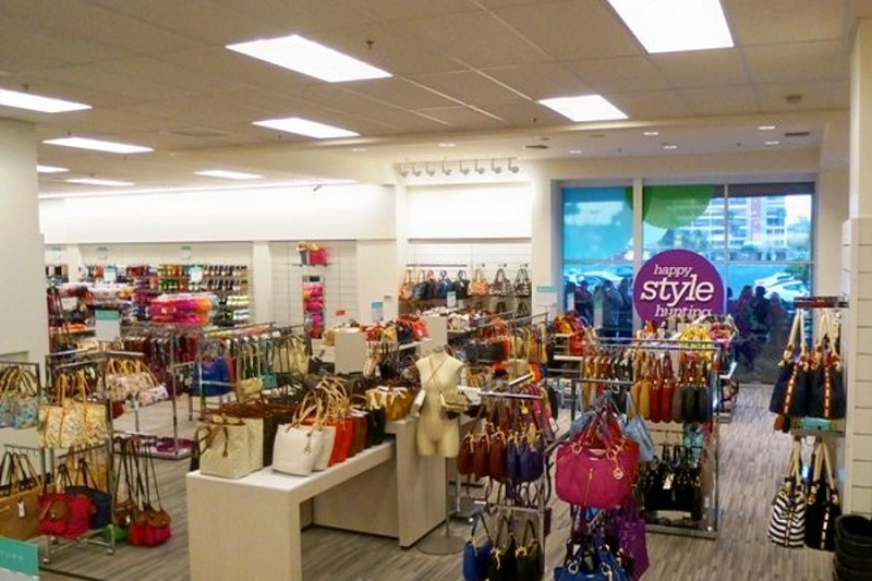 Mercadorias nas lojas Nordstrom em Los Angeles