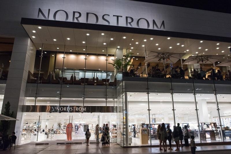 Beleza da loja Nordstrom em Los Angeles