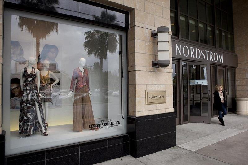 Vitrine da loja Nordstrom