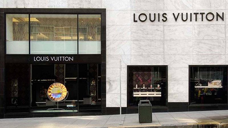 Lojas Louis Vuitton em San Francisco
